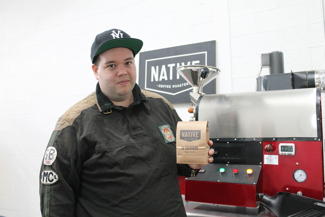 <p>Brian Donaldson, 29, launched Native Coffee Roasters this month. He roasts his own fair trade beans in a warehouse space in Astoria, Queens.</p>