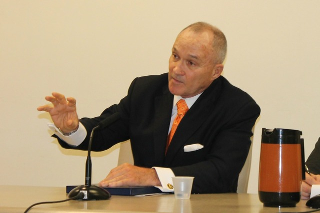<p>Police Commissioner Ray Kelly at a City Council budget hearing on March 12, 2013.</p>