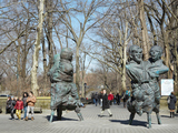 Central Park Art Installation Brings Together Bronze 'Enemies'
