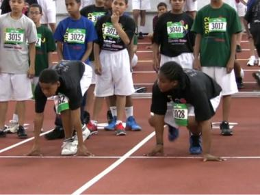 Hundreds of children are expected to receive track and field training and compete in races at the Armory on March 23.