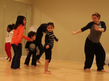 Zumba for kids is meant to develop motor skills in young children.
