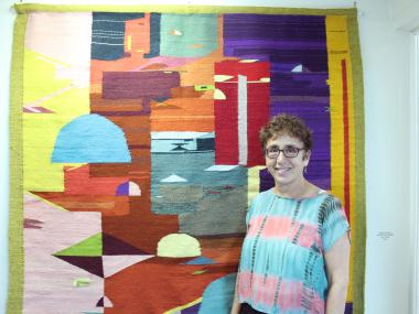 Hecho En Mexico showcases woven works by former City College professor Elizabeth Starcevic.