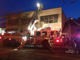 Fire Breaks Out at Dyckman Street Plastics Factory
