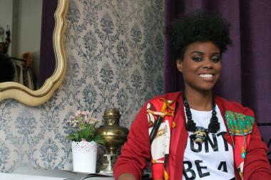 Celebrity stylist Khalilah Williams-Webb runs Shirley & Alice, a new vintage boutique in Bed-Stuy.