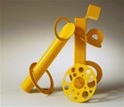 'Mellow Yellow' Sculpture On Its Way to TriBeCa Park