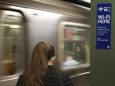 MTA adds cell and wireless service to 36 subway stations across Manhattan.