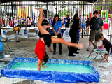 Visitors Float on Goo at Brooklyn Science and Art Museum Pop-Up