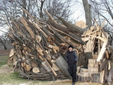 Tree House Made of Sandy-Felled Wood Debuts at Brooklyn Botanic Garden