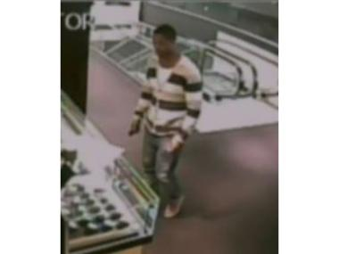 Police released surveillance photos of a man they say snatched a Cartier Ballon Bleu watch from a Midtown Tourneau store Satuday afternoon, March 30, 2013.