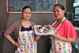 Cousins Cook Up Savory Cupcakes in Former Astoria Salon