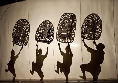 A troupe of Cambodian Shadow Puppet artists will perform at Brookfield Place WInter Garden Theater April 25 through April 28, 2013.