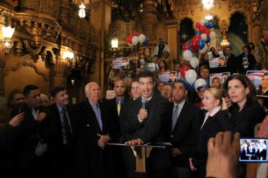 Ydanis Rodriguez Kicks off Re-Election Campaign at Washington Heights Rally