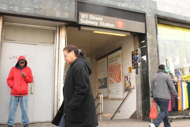 Renovations to the 168th and 181st Street Subway stations will cause 40 overnight and 13 weekend service disruptions.