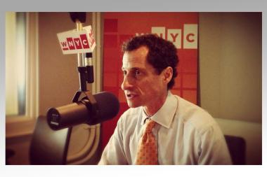 Mayoral candidate Anthony Weiner spoke with WNYC Thursday May 23, 2013.