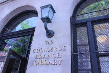 The Columbus Library will be closed until September.