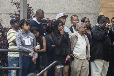Thousands mourned D'aja Robinson, the 14-year-old girl shot dead on a Queens bus last week.