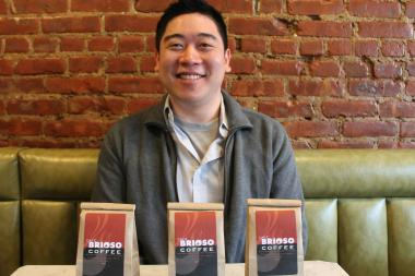Dennis Lee and Liz Wick of Astoria Coffee netted the award, which honors small businesses in Queens.