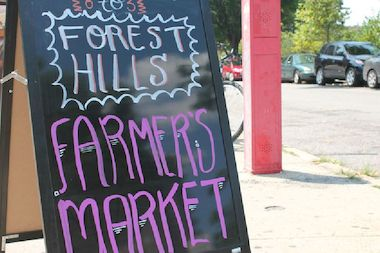 A local group will start collecting household food scraps at the market in June.