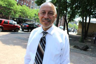 Julio Pabón, 61, said he reluctantly entered the 2013 City Council race because no one else would challenge the incumbent, Councilwoman Maria del Carmen Arroyo.