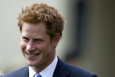 Prince Harry of Wales, pictured here in 2011, is scheduled to arrive in New York City on Monday, May 13 2013.