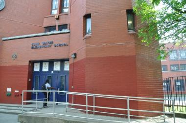 The Marcy Avenue school serves disabled students.
