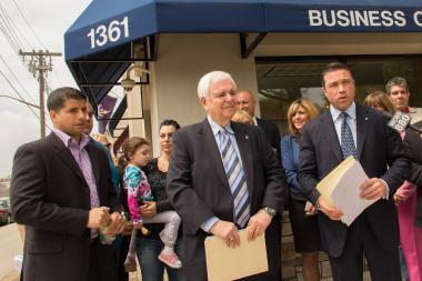 The Small Business Development Center opened a satellite office in New Dorp to help business owners impacted by Hurricane Sandy apply for federal aid.