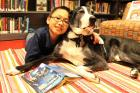 Service Dog Helps Children Learn to Read at Mulberry Street Library