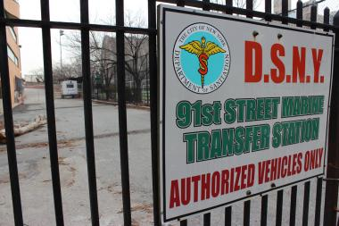 A state appeals court ruled in favor of the East 91st Street Marine Transfer Station on Tuesday, June 18 2013.