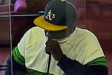 The NYPD released a photo of a man suspected in two bank robberies in the city.