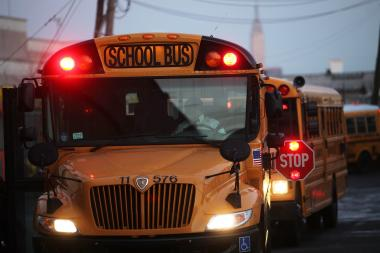 Children who live in Long Island City and take the bus to Astoria's P.S. 122 were recently told they had to start showing up at their bus stops about a half hour earlier than their usual pickup time, parents said.