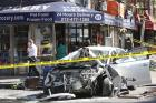 Bystanders Bloodied After Car Jumps Curb in East Village