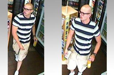 The suspect stole $90,000 from a parked car on Crocheron Avenue on Monday, June 10, 2013, cops said.