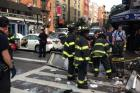 Eight Injured After Car Jumps Curb in East Village