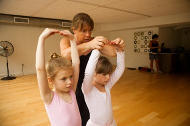 People are now competing for the rental market with added amenities for children, such as ballet classes in apartment buildings.