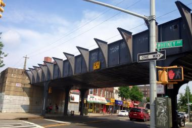 The LIRR station in Elmhurst was closed in 1985, but it might be brought back to life if a new survey finds it viable.