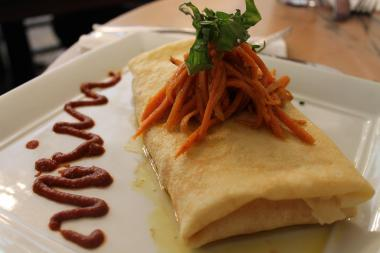All of the crepes can be made gluten-free.