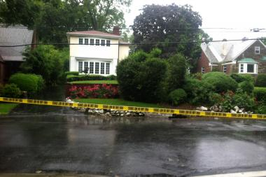 A retired federal agent shot at two burglars who had broken into his Jamaica Estates home Firday afternoon, June 7, 2013.