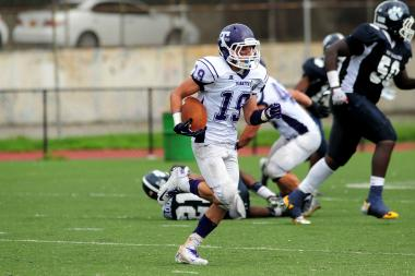 Tottenville junior James Munson was one of the top defensive backs in the city in the fall.