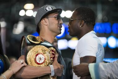 Bensonhurst's Paulie Malignaggi and Adrien Broner met Thursday for the final press conference ahead of Saturday's welterweight championship fight at the Barclays Center.