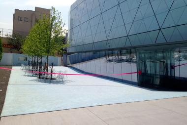 Museum of the Moving Image Opens New Courtyard