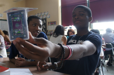 Students at Crown Heights'   Pathways in Technology Early College High School and their IBM mentors celebrated a successful second year with a friendly engineering competition.