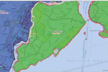 FEMA released Preliminary Work Maps for Staten Island, which has fewer homes in Flood Zone V — the area with the highest susceptibility of flooding.