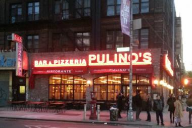 Pulino's at the corner of the Bowery and East Houston Street will close, according to a report.
