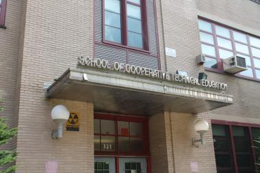 Politicians, students and teachers are calling for the Department of Education to drop plans to redevelop the School of Cooperative Technical Education at 96th Street between First Avenue and Second Avenue because no one affected by the proposal was consulted.