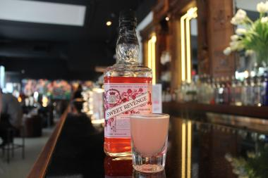 Pounds & Ounces Serves Pink Whiskey to Benefit Anti-Violence Project