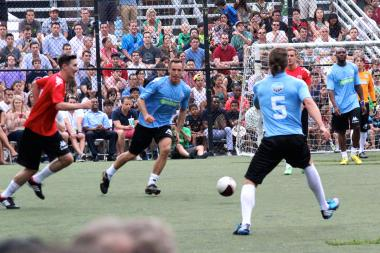 The Steve Nash Foundation Showdown Returned to Sara D. Rooservelt Park.