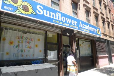 Sunflower Academy, a preschool on Fifth Avenue in Park Slope, is one of several sites operated by Natalia Baechko. State authorities revoked the license for a day care Baechko runs at 263 Eighth Street.