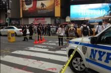 Man Stabbed in Times Square in Broad Daylight, Police Say