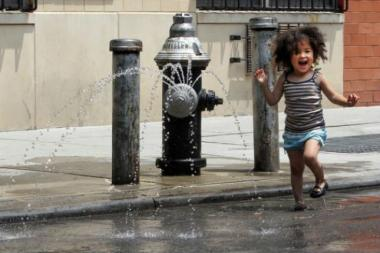 The city is expected to record its first heat wave of the year on Wednesday.