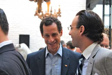 Columbus Avenue BID Hosts Anthony Weiner